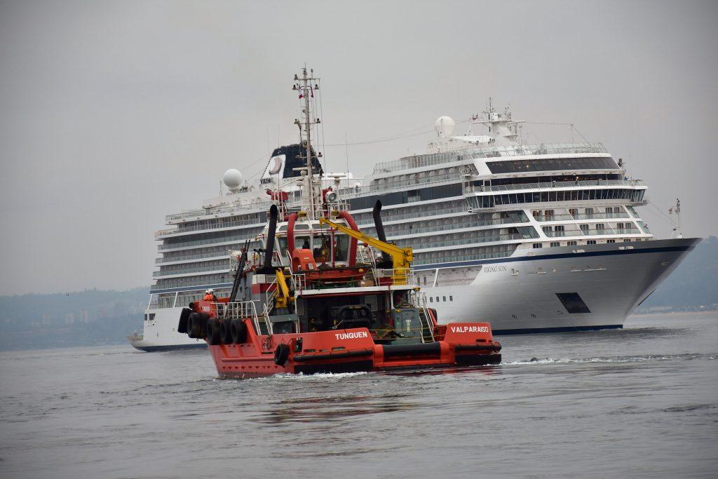 AGUNSA atiende al crucero Viking Sun_A