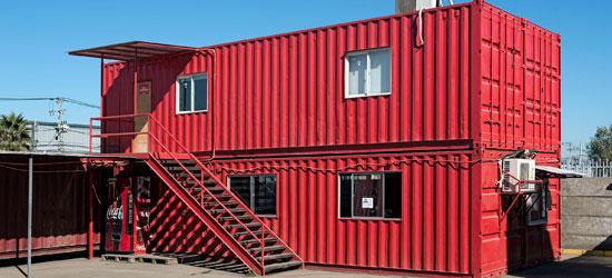 Venta y arriendo de contenedores agunsa agenciamiento for Contenedores de oficina